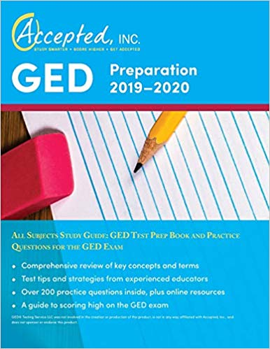 Accepted GED Preparation 2019-2020 All Subjects