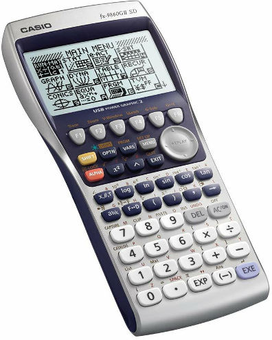 Casio FX 9860 GII Graphing Calculator