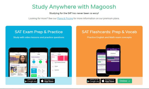 Magoosh SAT Flashcard