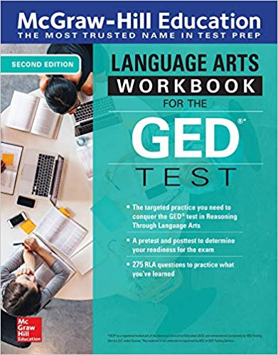 McGraw-Hill Education Language Arts Workbook for GED Test